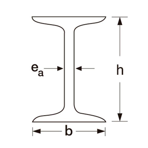 Perfil Viga I - 10,16cm x6,76cm