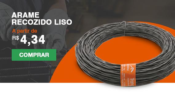 Banner Arame Recozido Liso